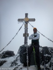 summit with guide armin fuchs